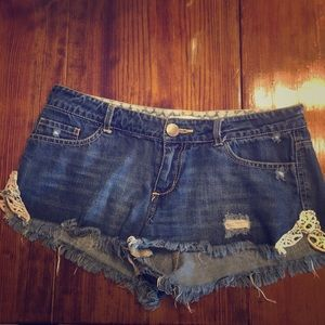 O'Neill Jean shorts with crotchet sides